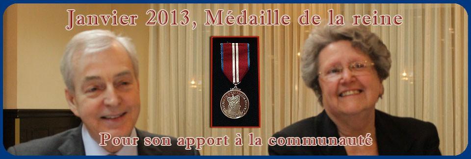 Médaille 2013