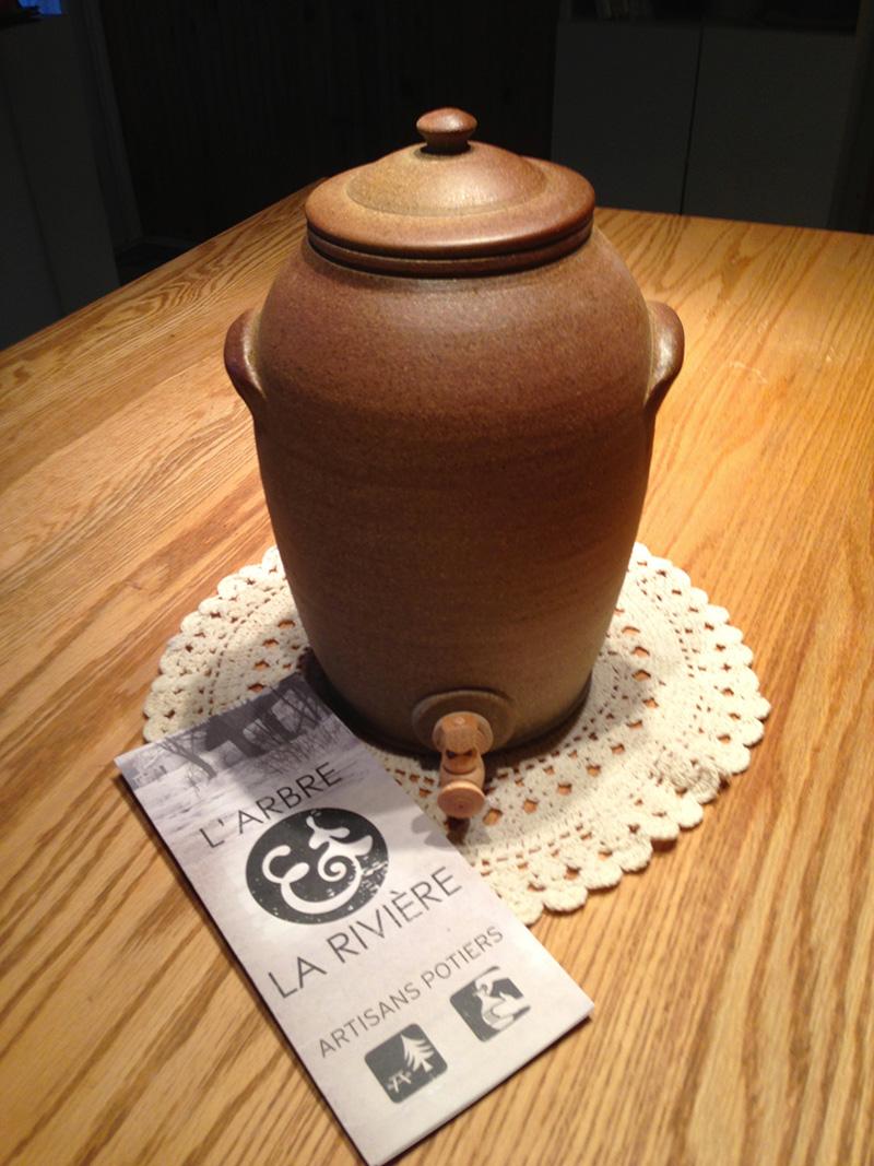 vinaigrier d'artisans potiers de Lanaudière